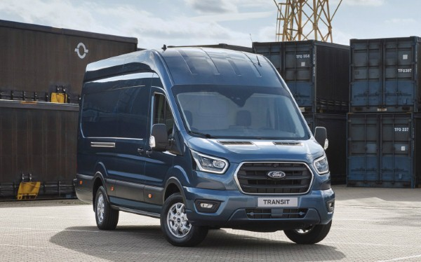 Ford Transit unveiled as diesel mild hybrid, coming mid-2019