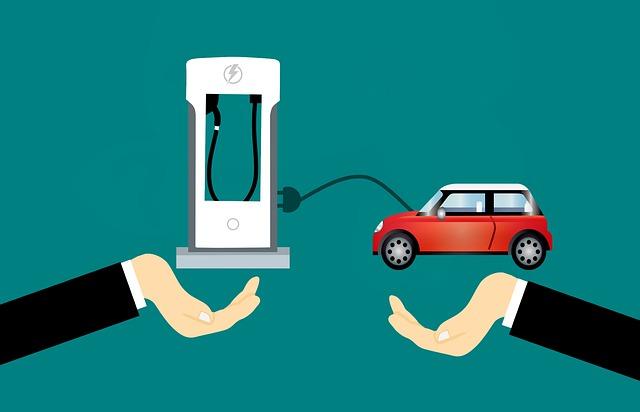Green Car Charging