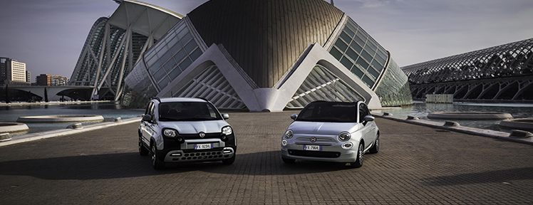 New mild hybrid options added to the Fiat city car line up